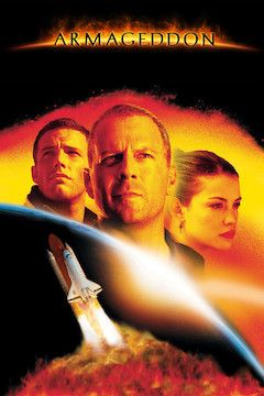 Poster for the movie Armageddon