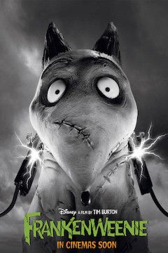Frankenweenie movie poster.