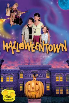 Halloweentown movie poster.