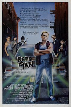 Repo Man movie poster.