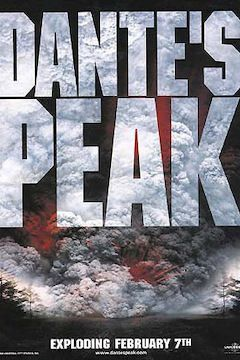 Dante's Peak movie poster.