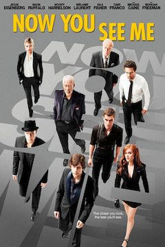 Now You See Me movie poster.