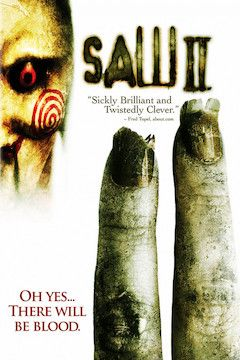 Saw II movie poster.