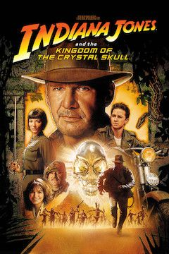 Indiana Jones and the Kingdom of the Crystal Skull movie poster.
