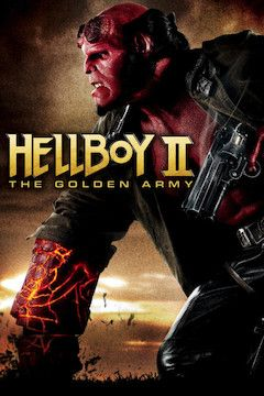 Hellboy II: The Golden Army movie poster.