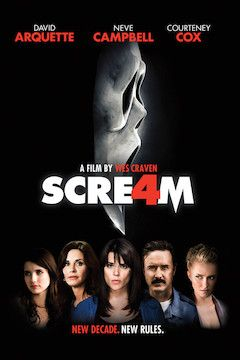 Scream 4 movie poster.
