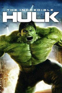 The Incredible Hulk movie poster.