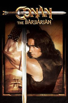 Conan the Barbarian movie poster.