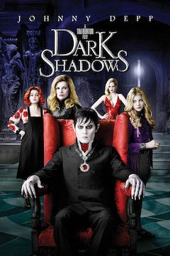 Poster for the movie Dark Shadows