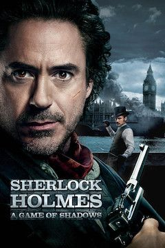Sherlock Holmes: A Game of Shadows movie poster.