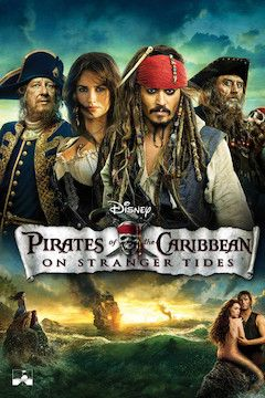 Pirates of the Caribbean: On Stranger Tides movie poster.