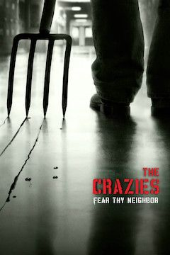 The Crazies movie poster.