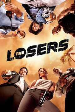 Poster for the movie The Losers