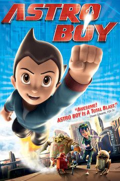 Poster for the movie Astro Boy