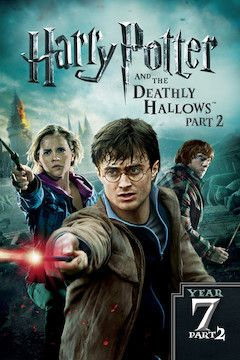 Harry Potter and the Deathly Hallows: Part 2 movie poster.