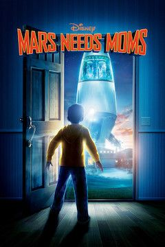 Mars Needs Moms movie poster.