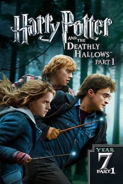 Harry Potter and the Deathly Hallows: Part 1 movie poster.