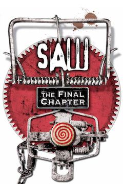 Saw: The Final Chapter movie poster.