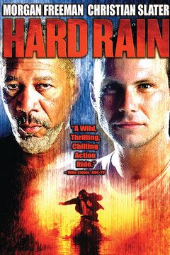 Hard Rain movie poster.