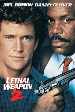 Lethal Weapon 2 movie poster.