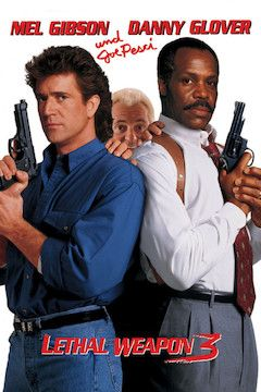 Lethal Weapon 3 movie poster.