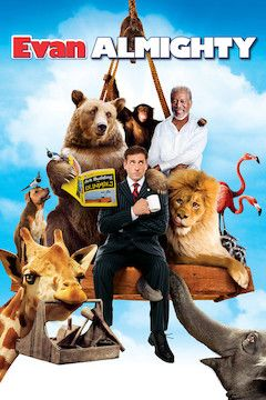 Poster for the movie Evan Almighty
