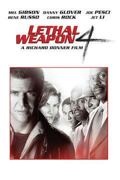 Lethal Weapon 4 movie poster.