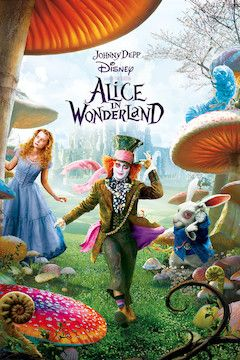 Alice in Wonderland movie poster.