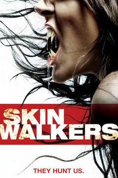 Skinwalkers movie poster.
