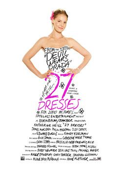 27 Dresses movie poster.