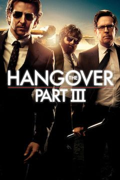 The Hangover Part III movie poster.