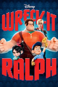 Wreck-It Ralph movie poster.