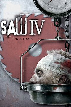 Saw IV movie poster.