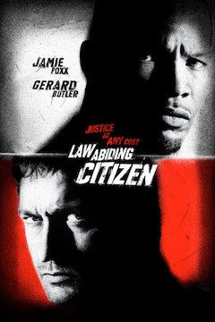Law Abiding Citizen movie poster.