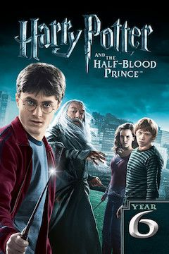 Harry Potter and the Half-Blood Prince movie poster.