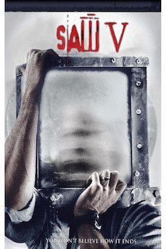 Saw V movie poster.