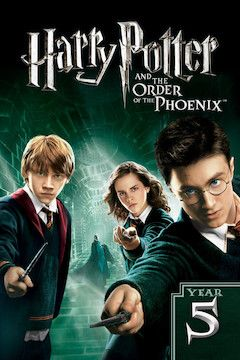 Harry Potter and the Order of the Phoenix movie poster.