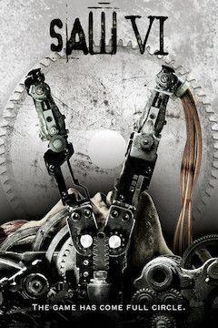 Poster for the movie Saw VI