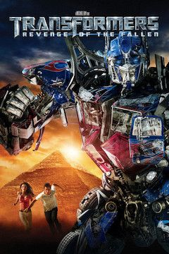 Transformers: Revenge of the Fallen movie poster.