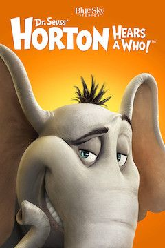 Horton Hears a Who! movie poster.