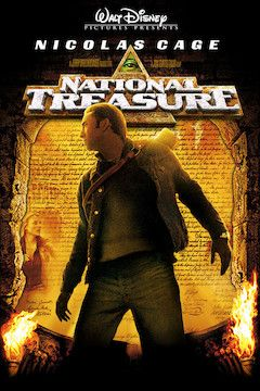 National Treasure movie poster.