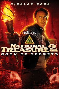 National Treasure: Book of Secrets movie poster.