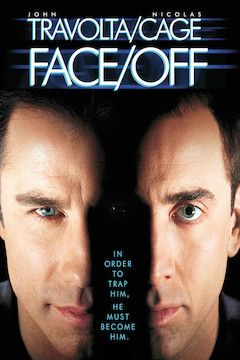 Face/ Off movie poster.