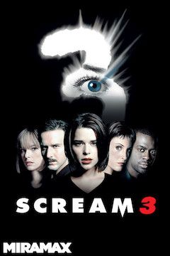 Scream 3 movie poster.