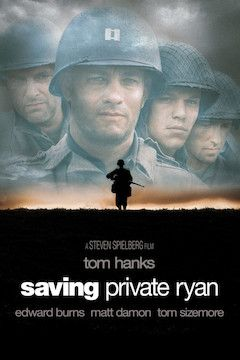 Poster for the movie Saving Private Ryan