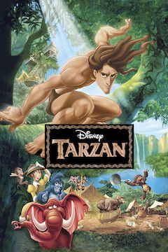 Poster for the movie Tarzan