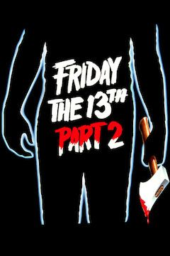 Friday the 13th Part 2 movie poster.