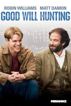 Good Will Hunting movie poster.