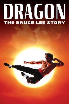 Dragon: The Bruce Lee Story movie poster.