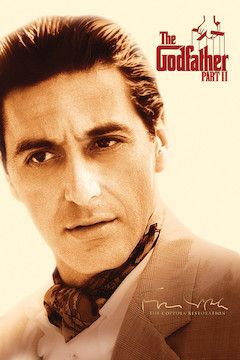 The Godfather II movie poster.
